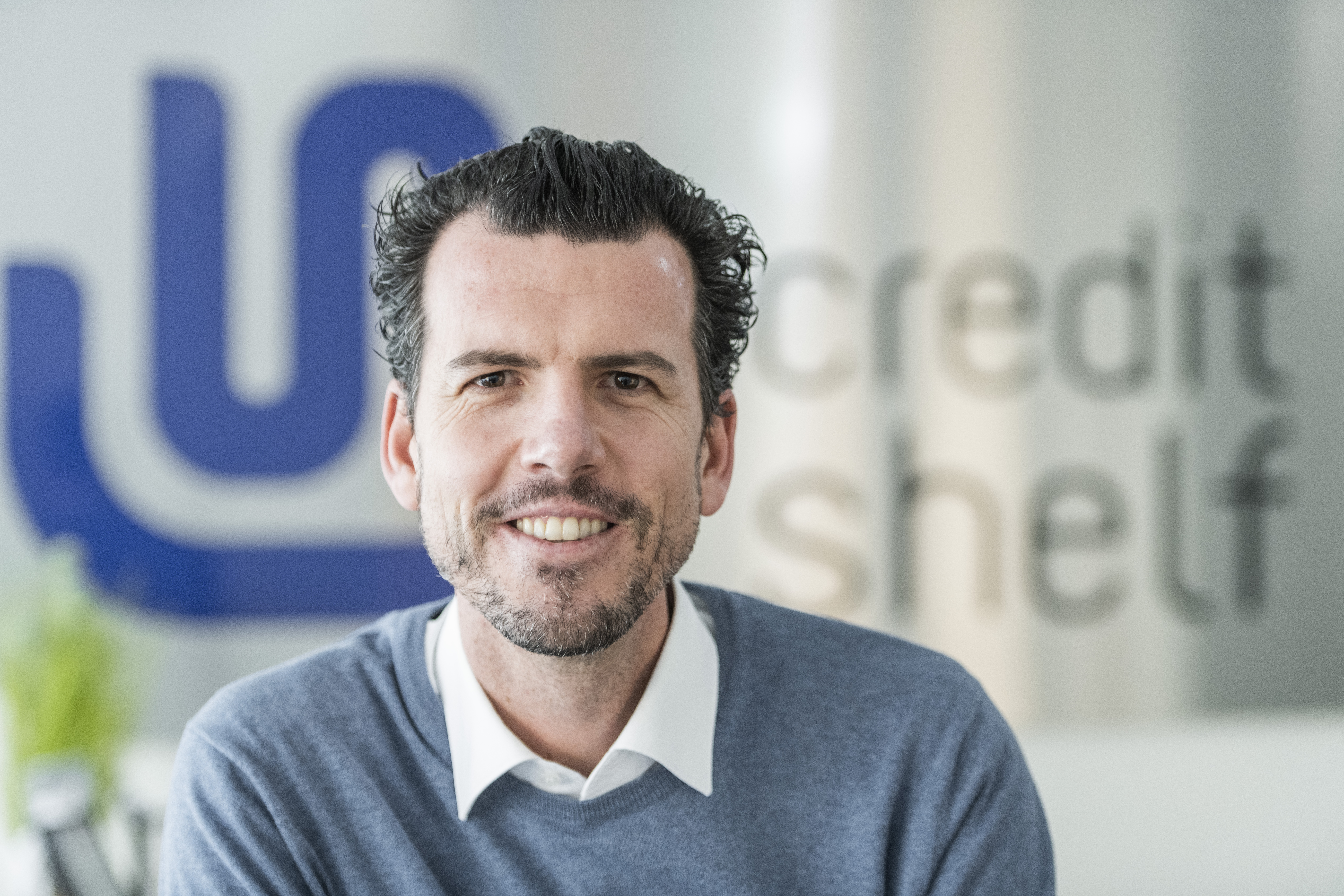 Marc-Oliver Knobloch, Leiter der Firmenkunden von creditshelf