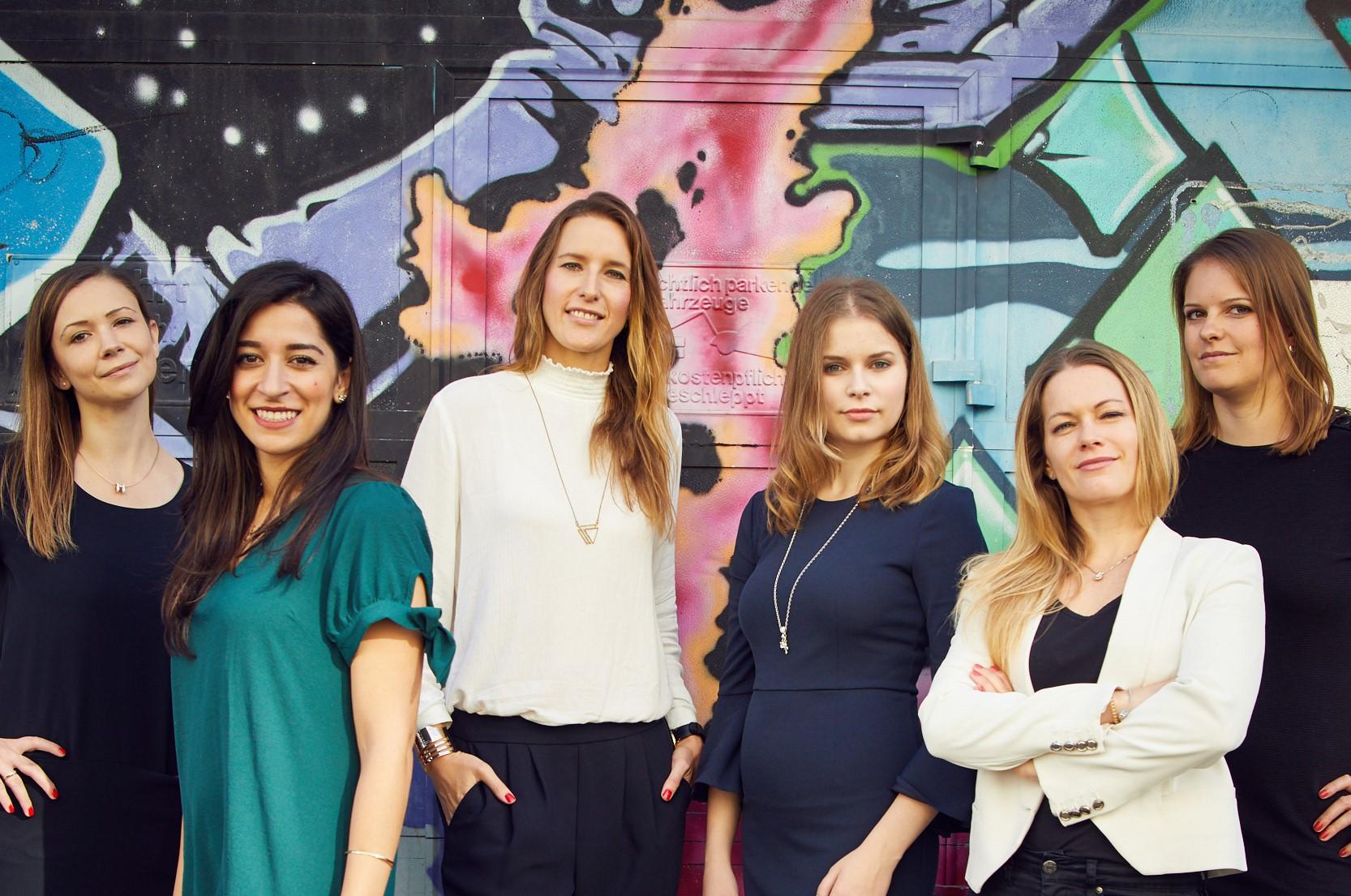Gruppenbild der Fintech Ladies