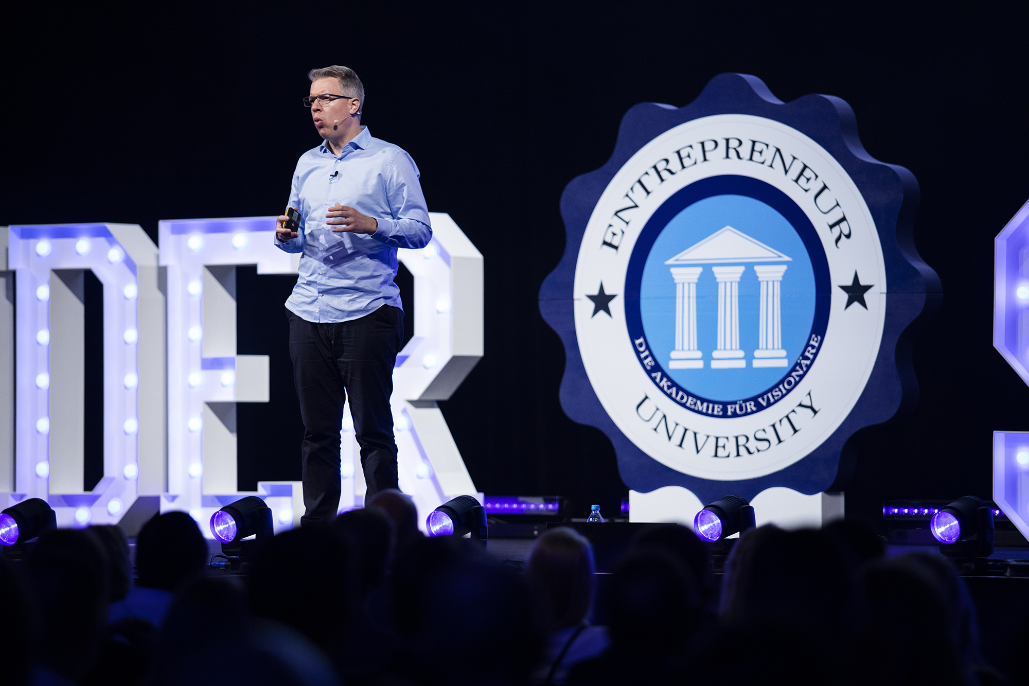 Entrepreneur University Vortrag
